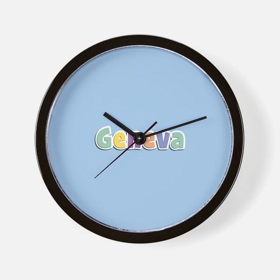 Geneva Spring14 Wall Clock