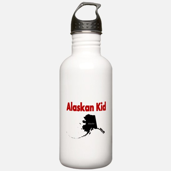 Alaskan born 2 Water Bottle