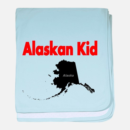 Alaskan born 2 baby blanket