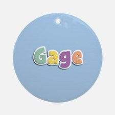 Gage Spring14 Ornament (Round)
