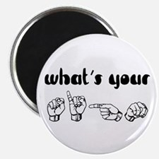 """What's Your Sign 2.25"""" Magnet (10 pack)"""