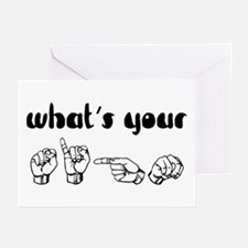 What's Your Sign Greeting Cards (Pk of 10)