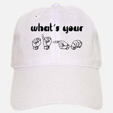 What's Your Sign Baseball Baseball Cap