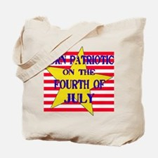 Born on 4th of July Tote Bag