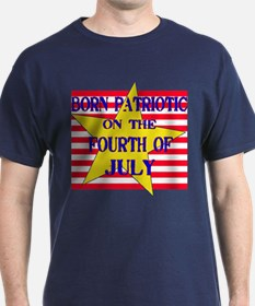 Born on 4th of July T-Shirt