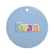 Evan Spring14 Ornament (Round)