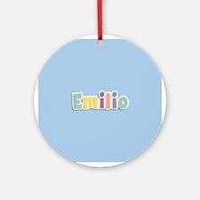 Emilio Spring14 Ornament (Round)