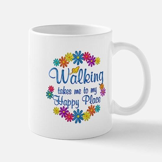 Walking Happy Place Mug