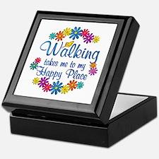 Walking Happy Place Keepsake Box