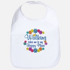 Walking Happy Place Bib