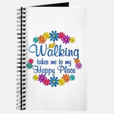 Walking Happy Place Journal