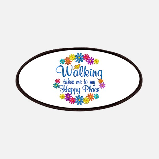 Walking Happy Place Patches