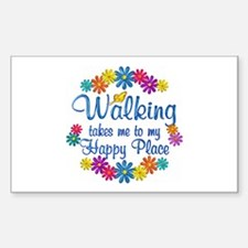 Walking Happy Place Decal