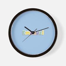 Emanuel Spring14 Wall Clock