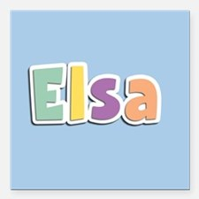 "Elsa Spring14 Square Car Magnet 3"" x 3"""