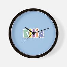 Ellie Spring14 Wall Clock