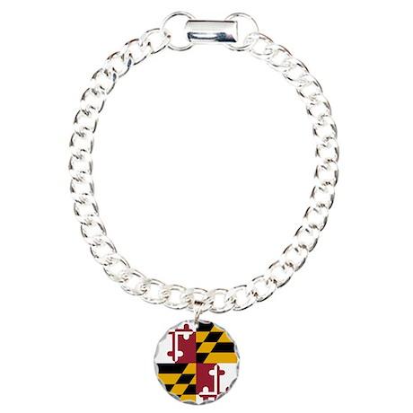 Maryland State Flag Bracelet
