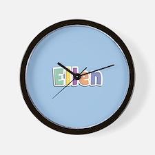 Ellen Spring14 Wall Clock