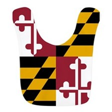 Maryland State Flag Bib