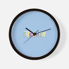 Eleanor Spring14 Wall Clock