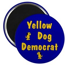 Yellow Dog Democrat Magnet