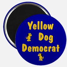 Yellow Dog Democrat Magnet
