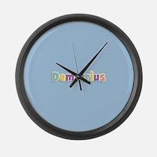 Demetrius Spring14 Large Wall Clock