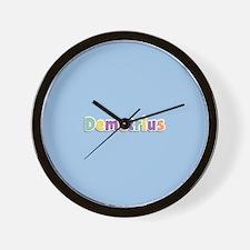 Demetrius Spring14 Wall Clock
