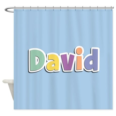 David Spring14 Shower Curtain