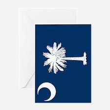 South Carolina 3 Greeting Cards