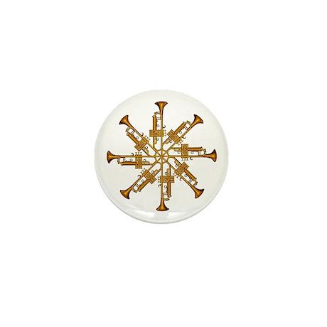 Trumpet Flower Mini Button (100 pack)