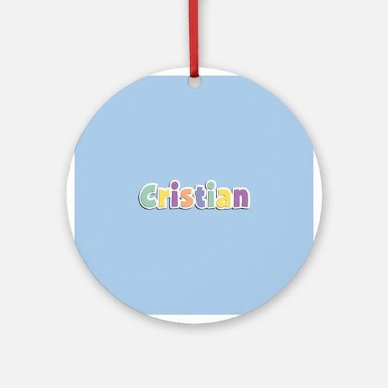 Cristian Spring14 Ornament (Round)