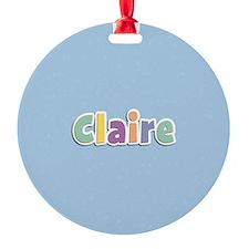 Claire Ornament