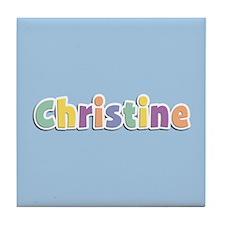 Christine Spring14 Tile Coaster