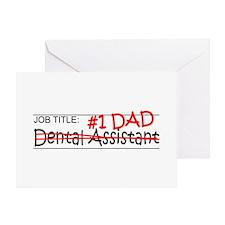 Job Dad Dental Asst Greeting Card
