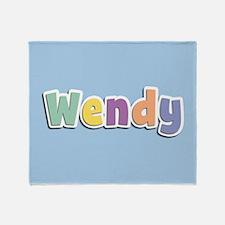 Wendy Spring14 Throw Blanket