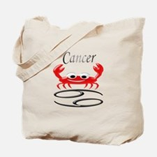 Star Sign Cancer Tote Bag