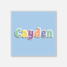 Cayden Spring14 Sticker