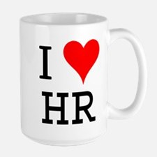I Love HR Large Mug