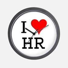 I Love HR Wall Clock