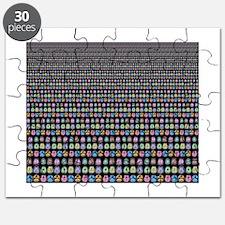 Brain Mosaic Puzzle
