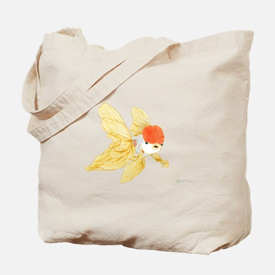 Daily Doodle 15 Goldfish Tail Tote Bag