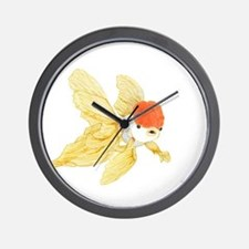 Daily Doodle 15 Goldfish Tail Wall Clock