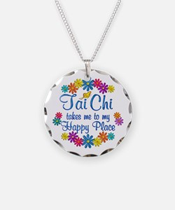 Tai Chi Happy Place Necklace