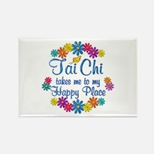 Tai Chi Happy Place Rectangle Magnet (10 pack)