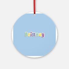 Brittney Spring14 Ornament (Round)