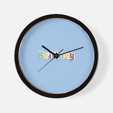 Brittney Spring14 Wall Clock