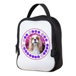Sit Stay Wag Cavalier Style Neoprene Lunch Bag