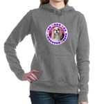 Sit Stay Wag Cavalier St Women's Hooded Sweatshirt