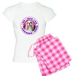 Sit Stay Wag Cavalier Style Women's Light Pajamas